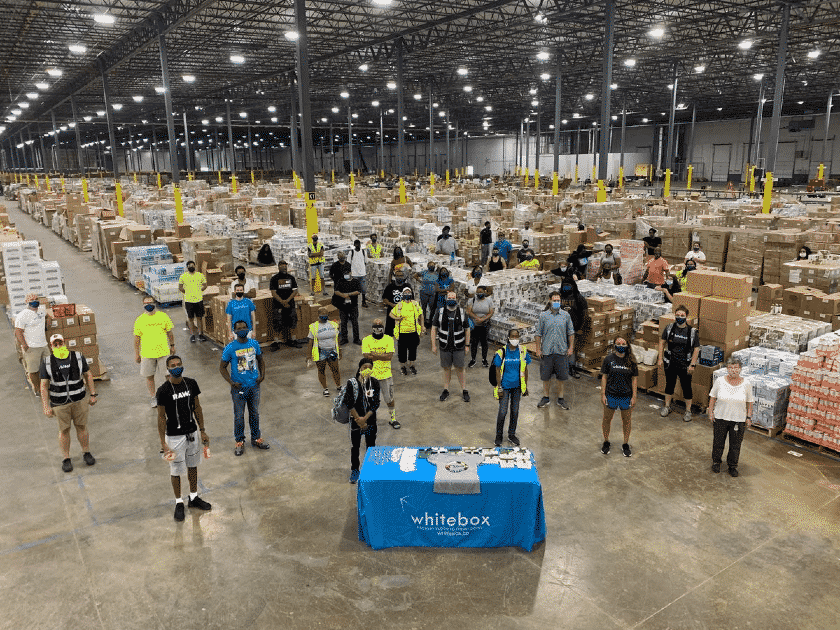 A look inside one of Whitebox's warehouse centers