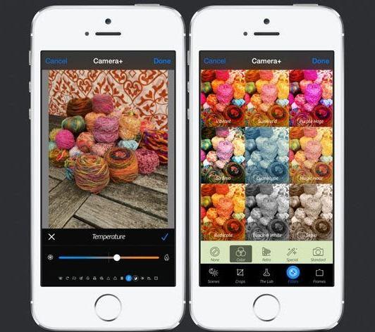 Screenshot of Camera+2 for iPhone