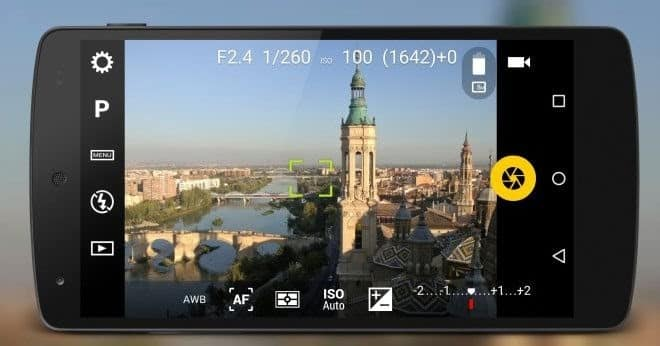 Screenshot of Camera FV-5 For Android