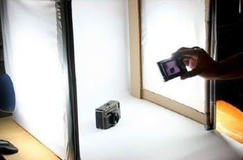 Screenshot of Camera Product Photography