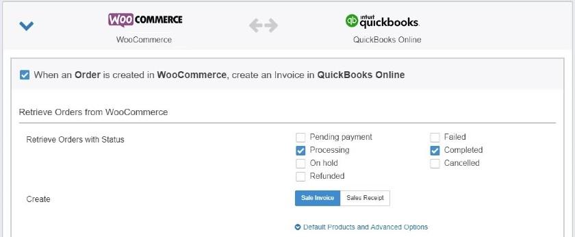 Screenshot of Choosing Workflows
