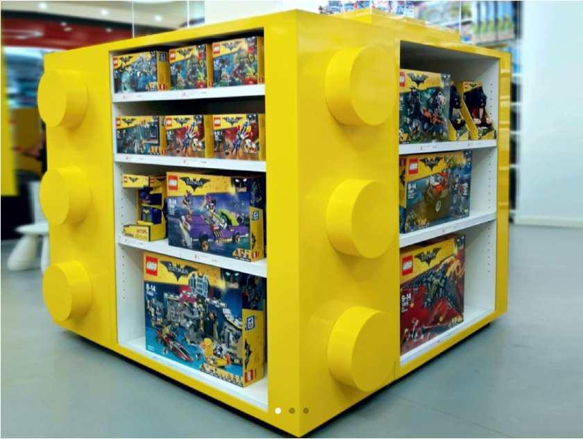 Screenshot of Lego Aisle POP Display