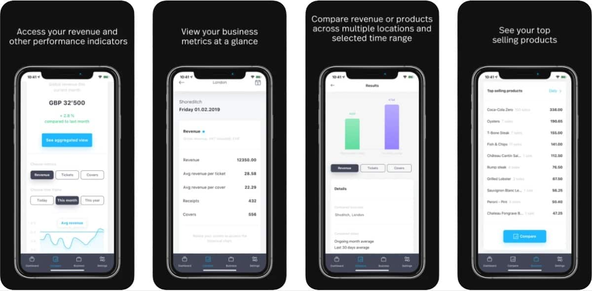 Screenshot of Lightspeed Live App