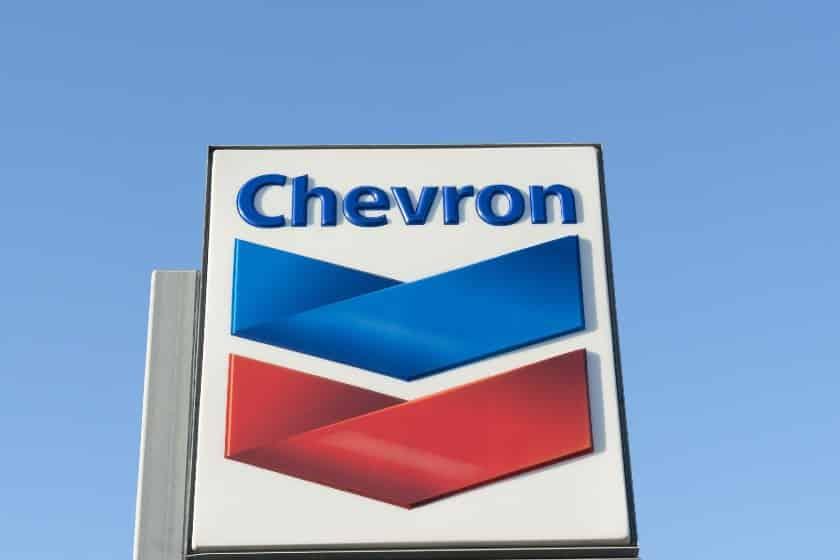 Chevron Signboard Logo