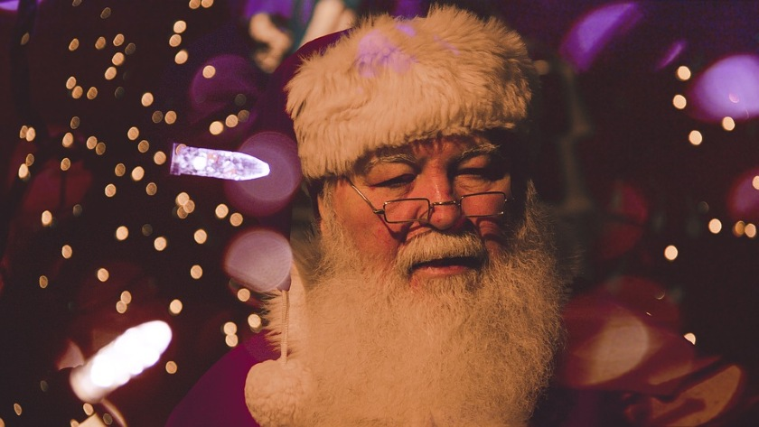WestJet Santa Claus