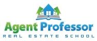 Agent Professor Real Estate School Logo