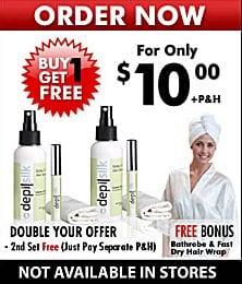 DepilSilk Buy 1 Get 1 Free Promotion
