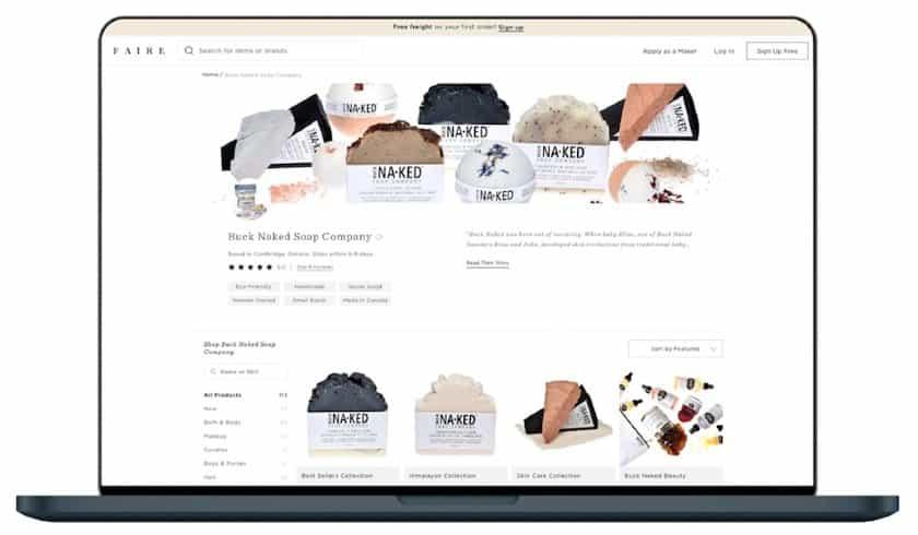 Faire wholesale marketplace
