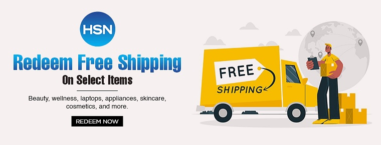HSN Free Shipping Promotion