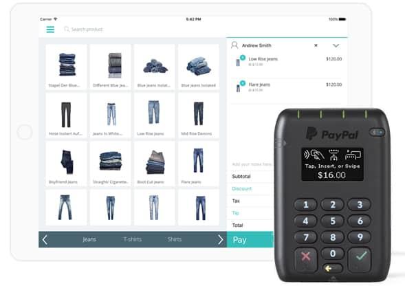Screenshot of Hike POS mobile iPad app
