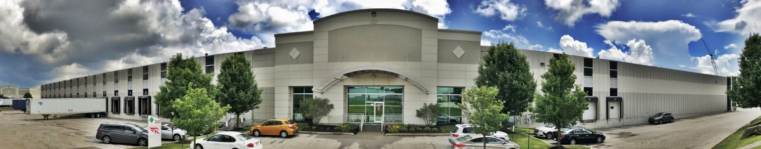 Screenshot Redhawk Logistics warehouse Columbus, Ohio