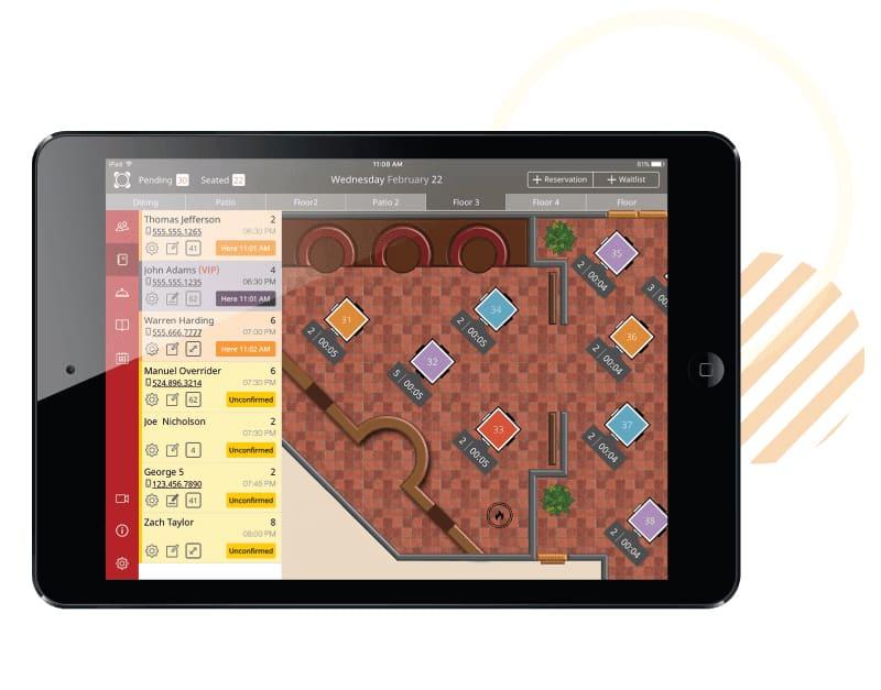 Screenshot of Rezku customize floor plans and templates