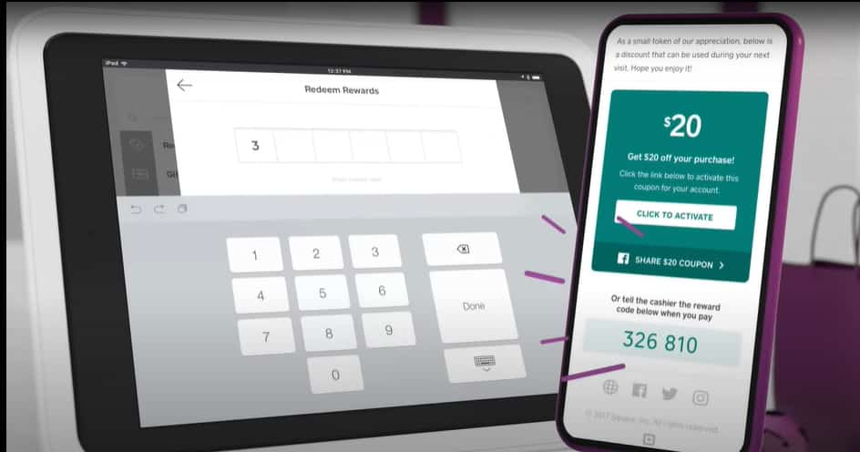 Screenshot_Square of POS in mobile and tablet app