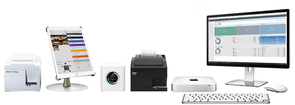 Screenshot of TouchBistro operates on iOS devices