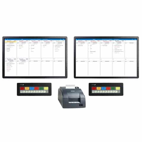 Screenshot of Single or Double Kitchen Display System Kit