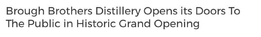 Grand opening press release headline 2