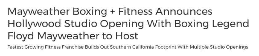 Grand opening press release headline examples