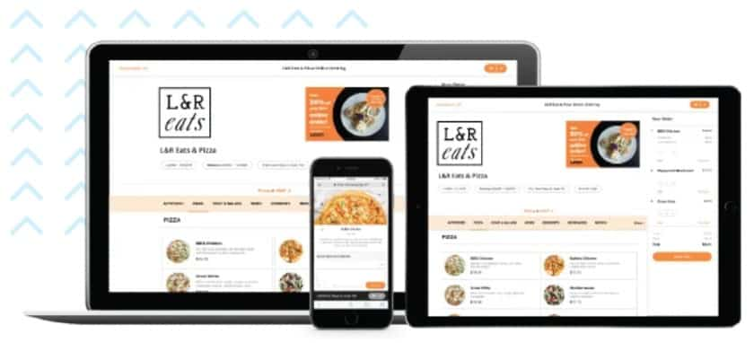 Screenshot of Rezku Online Ordering