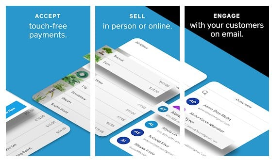 Screenshot of Square POS Offers Most Features