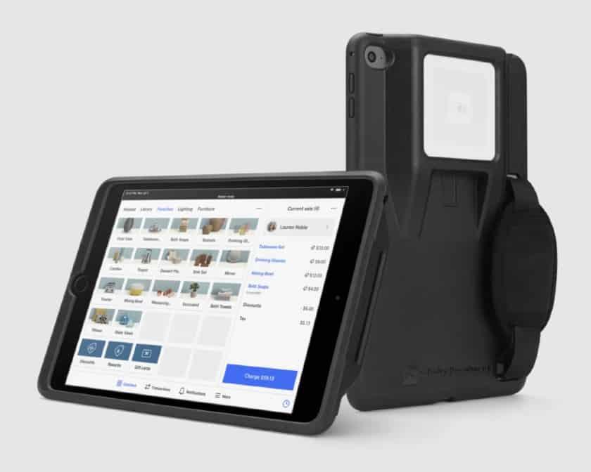 Screenshot of Square Tableside iPad Holder
