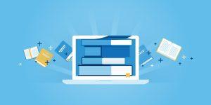 website banner of e-learning