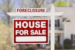 Foreclosure - House for sale Signage