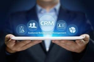 Customer Relationship Management Business Internet Techology Concept