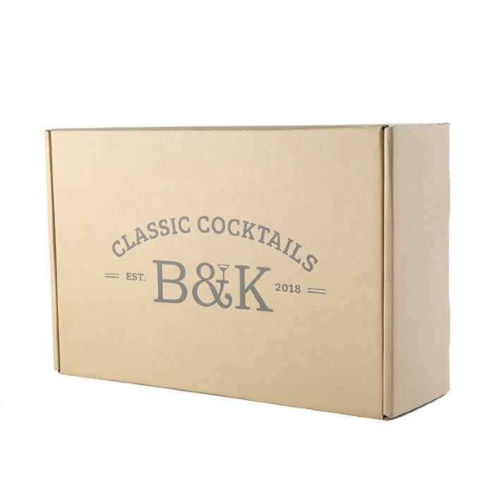 B&K Classic Cocktails Printed box