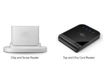 Chip, swipe and tap payment options