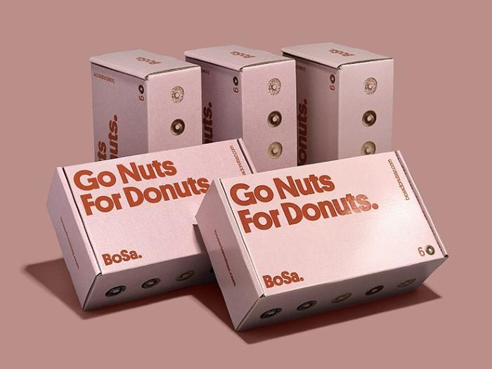 Donuts custom packaging