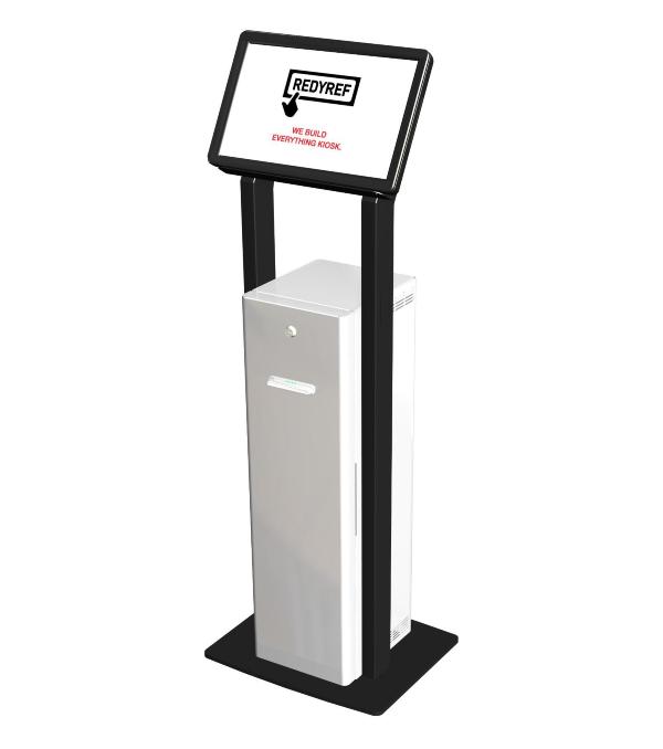 Freestanding T-Flex Kiosk For Restaurants