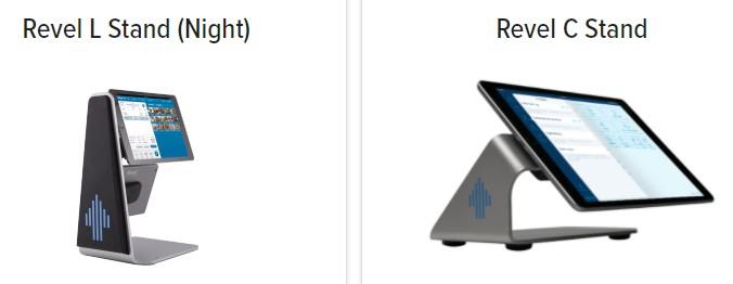 Revel iPad stands