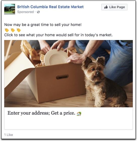 BoldLeads Sample seller ad