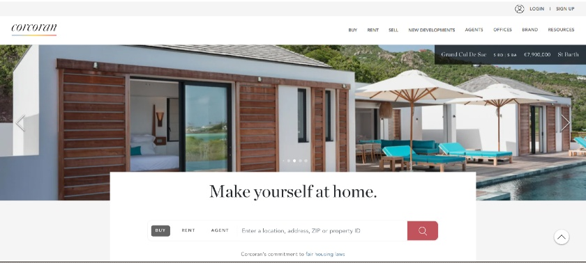 Corcoran RE Landing Page Examples