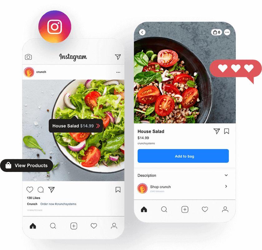 Crunch Kios Integrated Social Media Ordering Tools