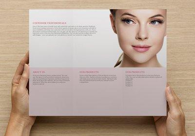 Eye Care Template Tri-fold Brochure