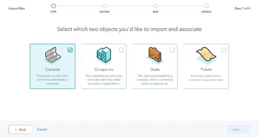 HubSpot Import Files