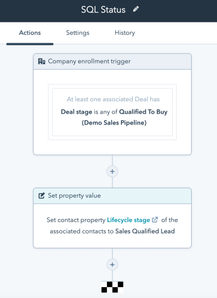 HubSpot update your contact lifecycle stage