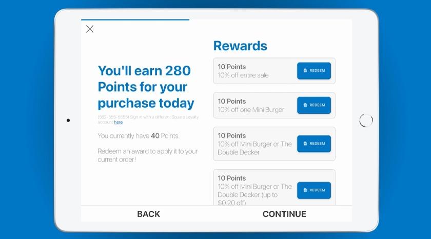 KioskBuddy Customers Rewards Alert