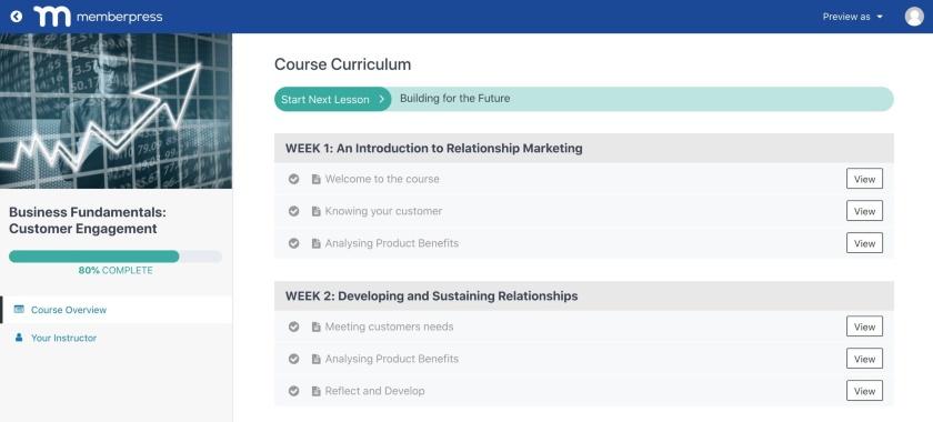 MemberPress Course Overview