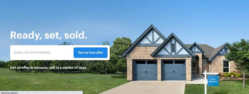 Opendoor RE Landing Page Examples