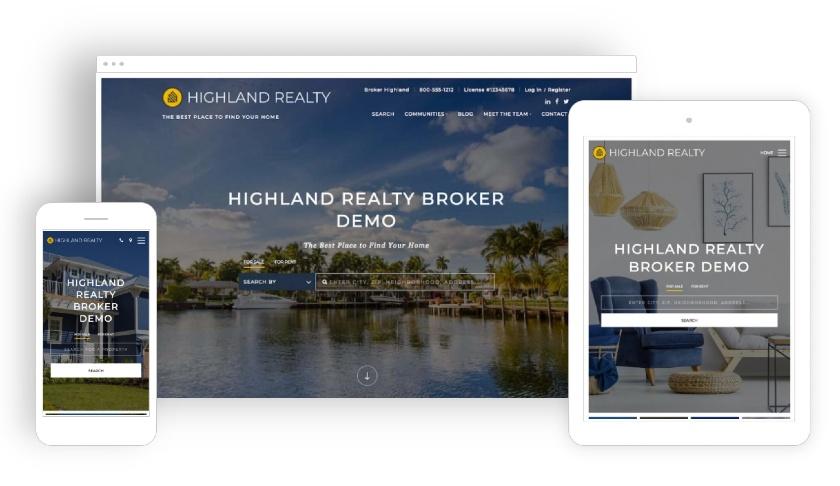Placester Highland Realty Broker Demo