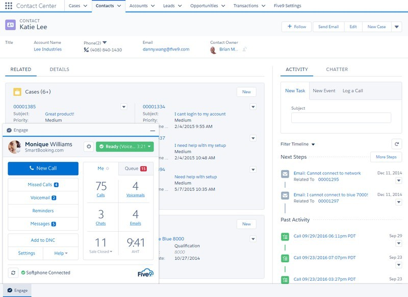 Salesforce Contact Page Interface 2021