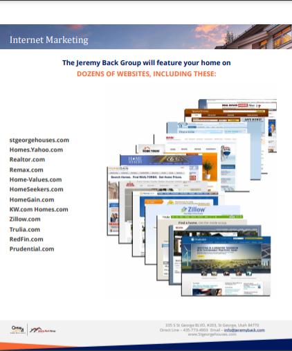 Screenshot of Sample Marketing Strategy