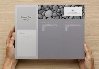 Spa Template Tri-fold Brochure