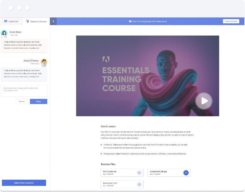 Tutor LMS learning path management