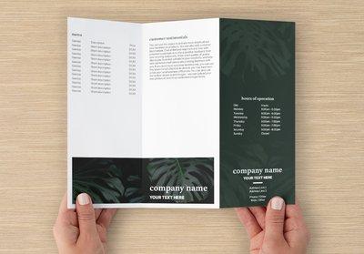 Vistaprint Template Z-fold Brochure