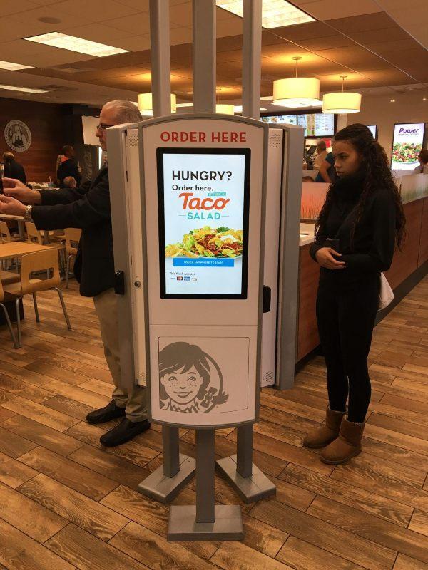 Wendy's RedyRef kiosks