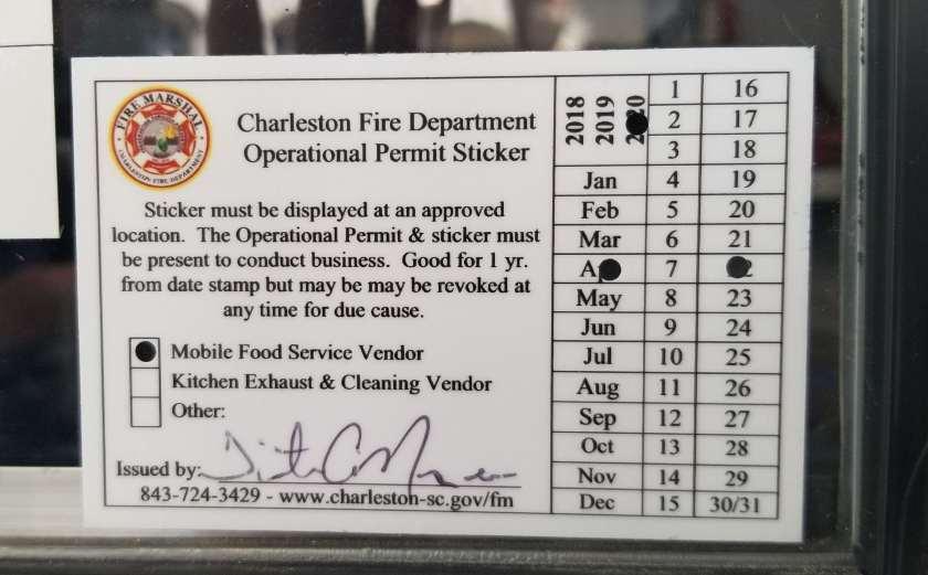 Screenshot of A Mobile Food Vending Permit