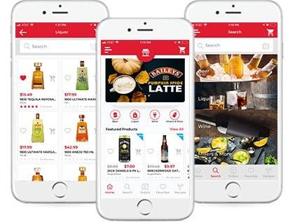 Screenshot of BottlecApps Mobile App